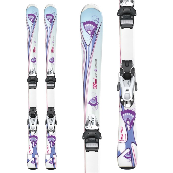 Head - MYA No. 1 Skis + SX 7.5 AC Bindings - Youth - Girl's 2013