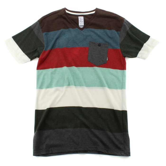 Billabong - Border V Neck T Shirt