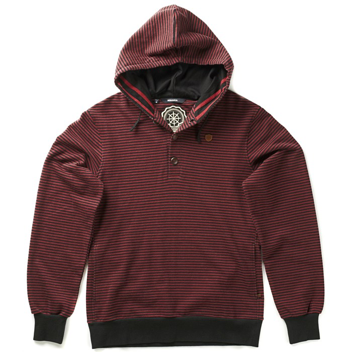 Makia - Henley Pullover Hoodie