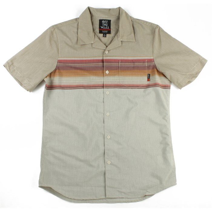 Vans - JT Gunnell Short Sleeve Button Down Shirt