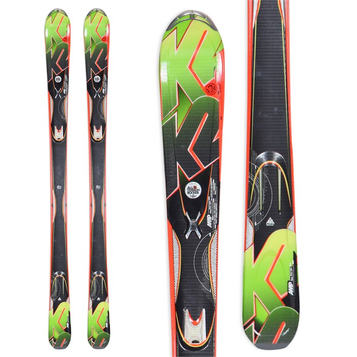 K2 - A.M.P. Rictor Skis 2013
