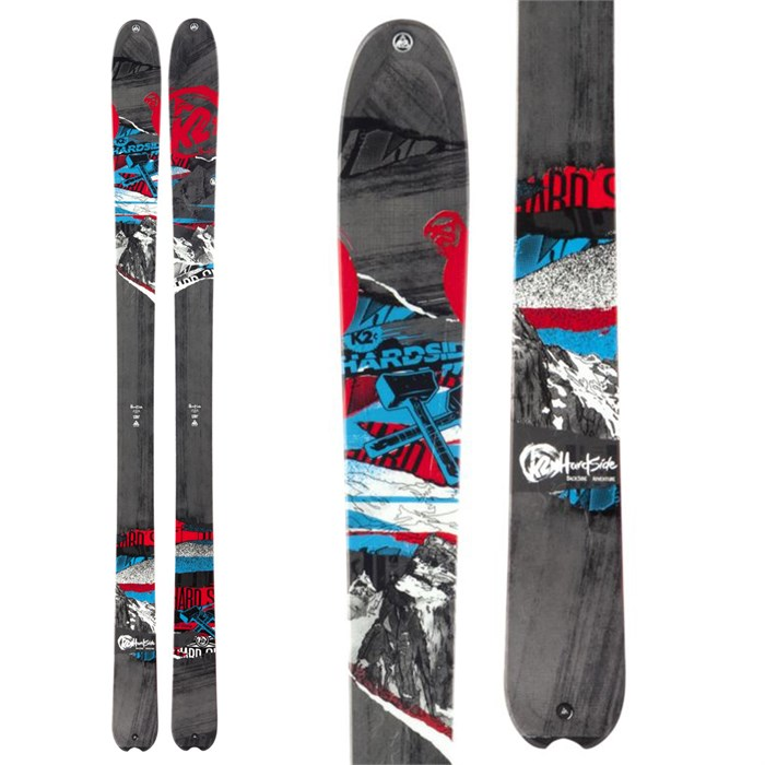 K2 - HardSide Skis 2013