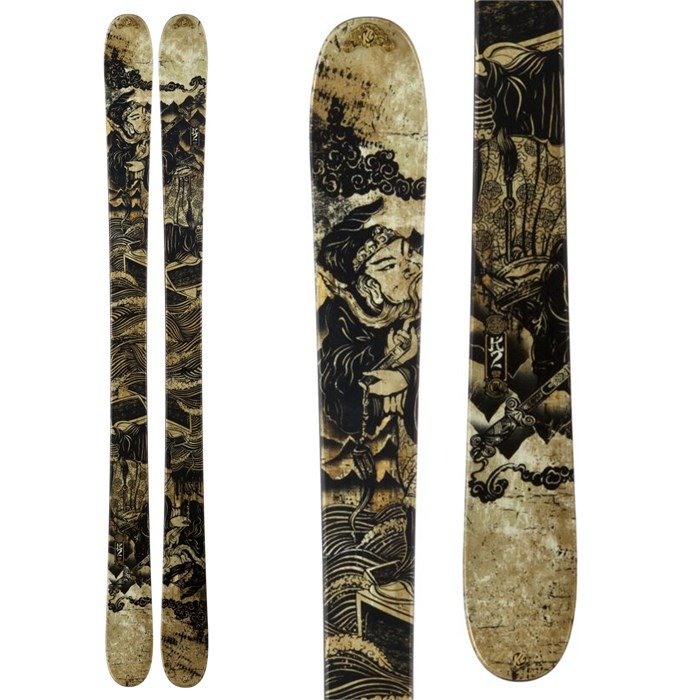 K2 - Iron Maiden Skis 2013
