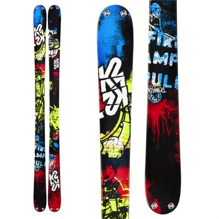 K2 - Domain Skis 2013