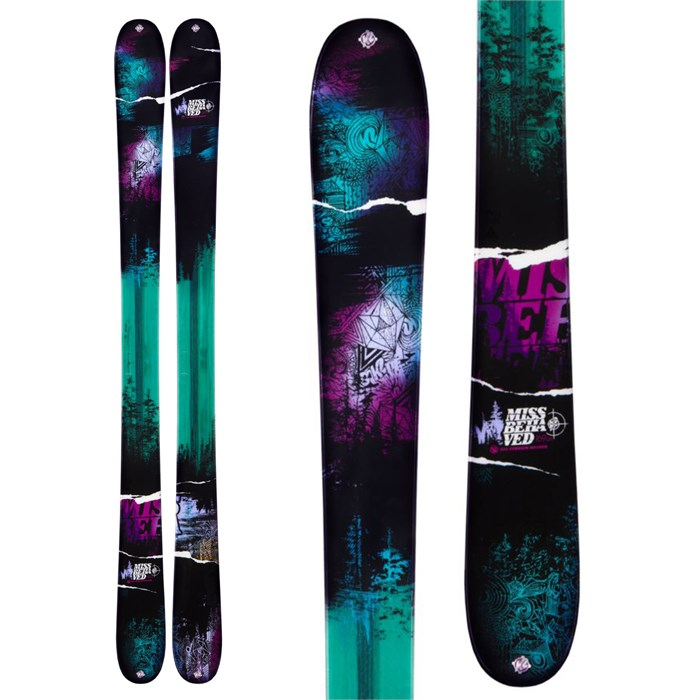K2 - MissBehaved Skis - Women's 2013