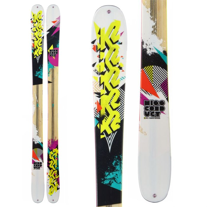 K2 - MissConduct Skis - Women's 2013