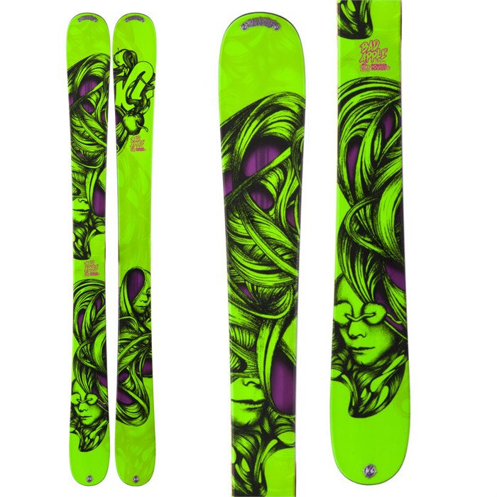 K2 - Bad Apple Skis - Youth - Boy's 2013