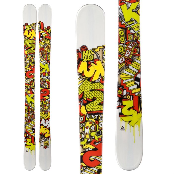 K2 - Bad Seed Skis - Youth - Boy's 2013