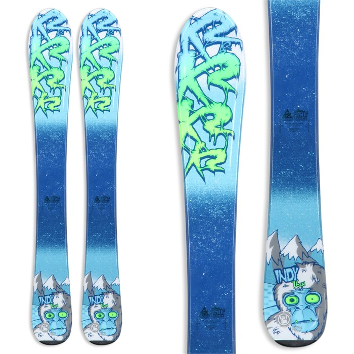 K2 - Indy Skis - Boy's 2014