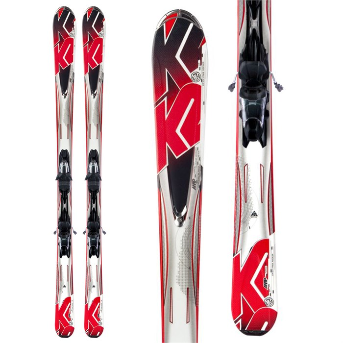 K2 - A.M.P. Force Skis + Marker M3 10.0 Bindings 2013