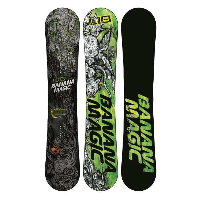 Lib Tech - Banana Magic Enhanced BTX Snowboard 2013