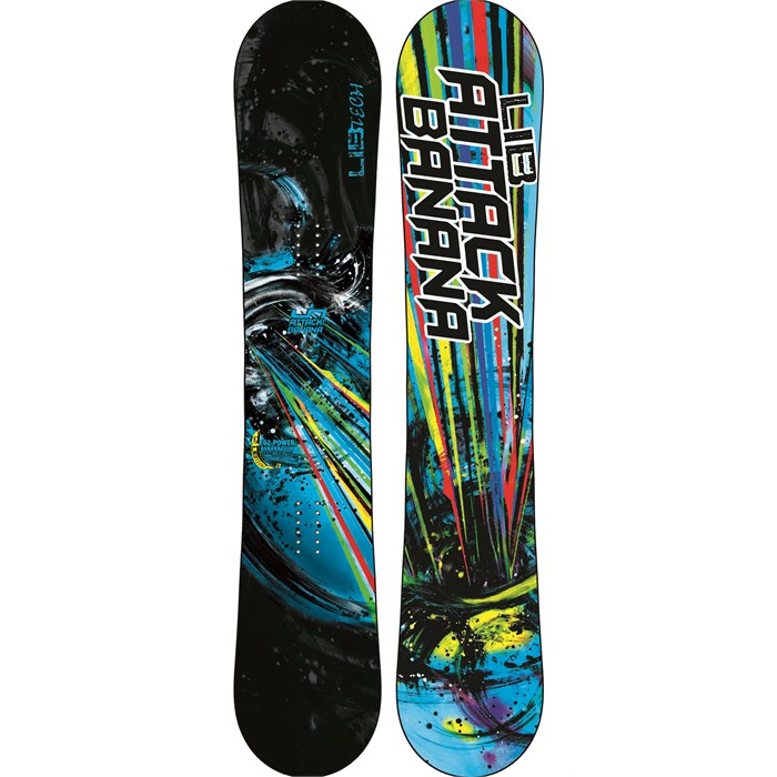 Lib Tech - Attack Banana EC2BTX Wide Snowboard 2013