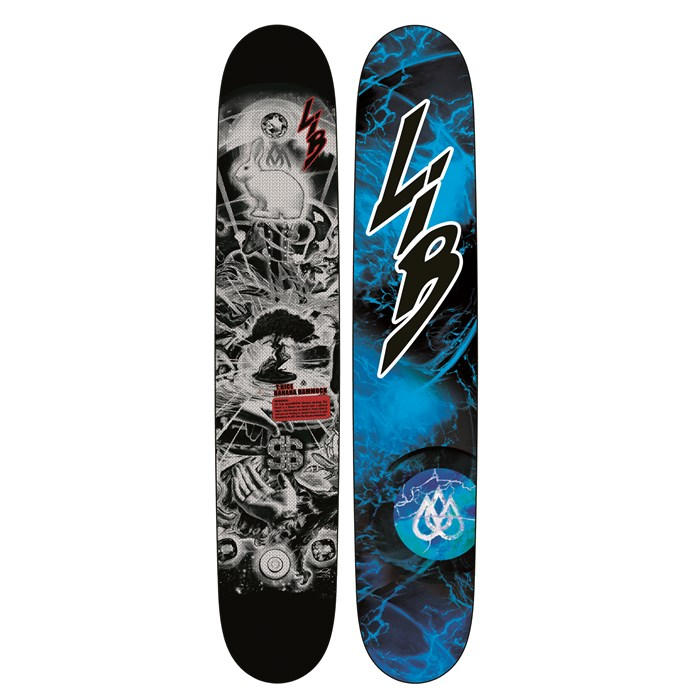Medium image of lib tech   t rice banana hammock tttr hp snowboard 2013