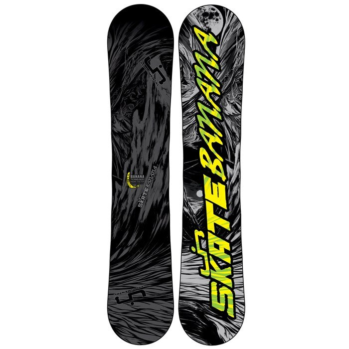 Lib Tech - Skate Banana BTX (Grey/Black) Narrow Snowboard 2013
