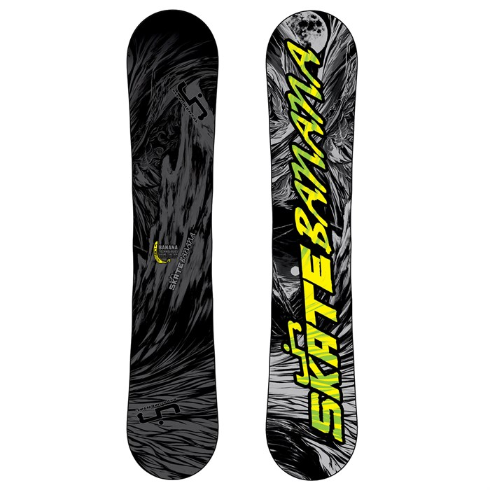Lib Tech - Skate Banana BTX (Grey/Black) Wide Snowboard 2013