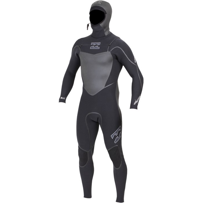 Billabong - Solution SG5 6/5/4 Chest Zip Hooded Wetsuit