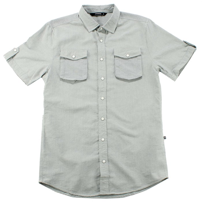 Makia - Oxford Short Sleeve Button Down Shirt