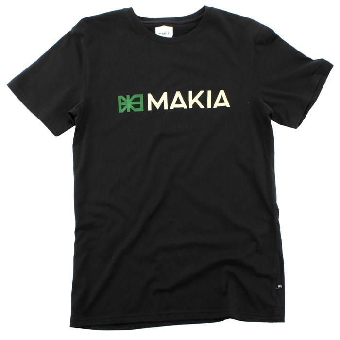 Makia - & Flag T Shirt