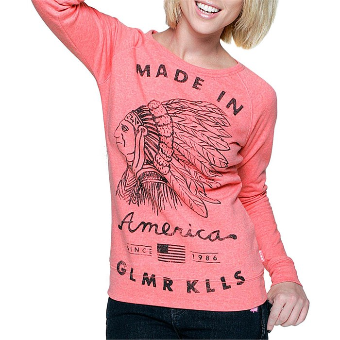 Glamour Kills - American Made Scoop Neck Sweatshirt - Women's