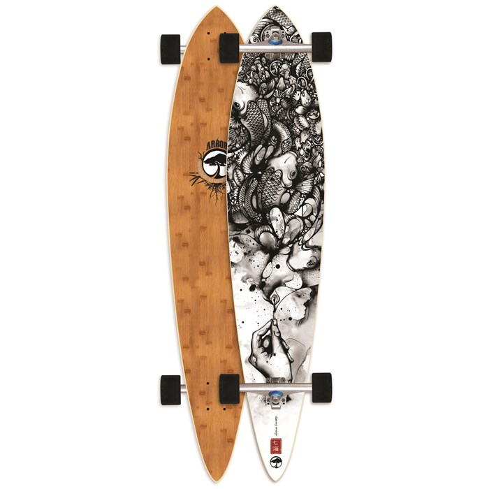 Arbor - Pin Bamboo Longboard Complete