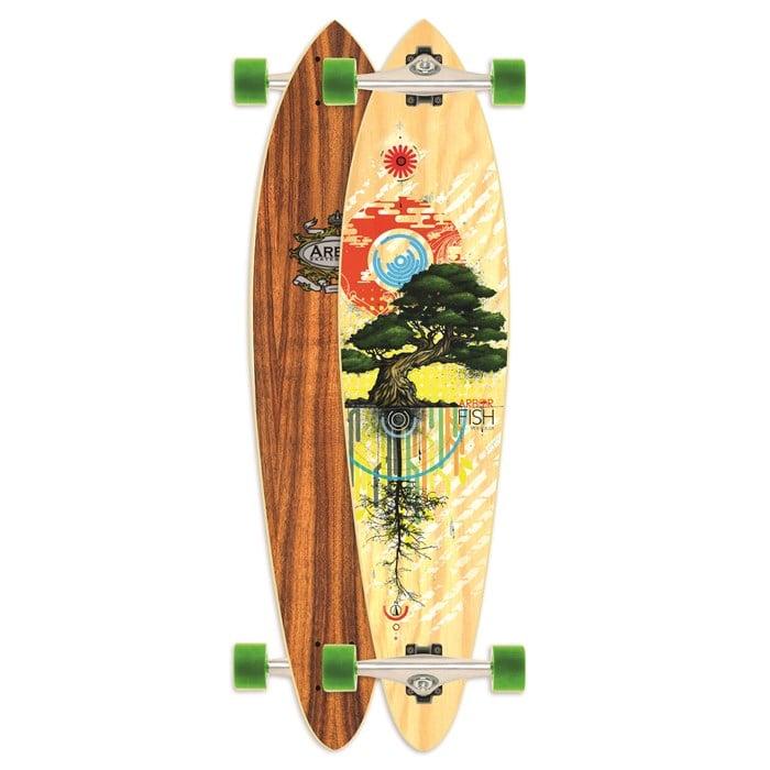 Arbor - Fish Carver Longboard Complete