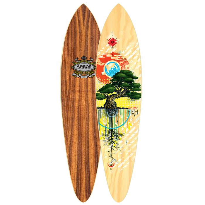 Arbor - Fish Carver Longboard Deck