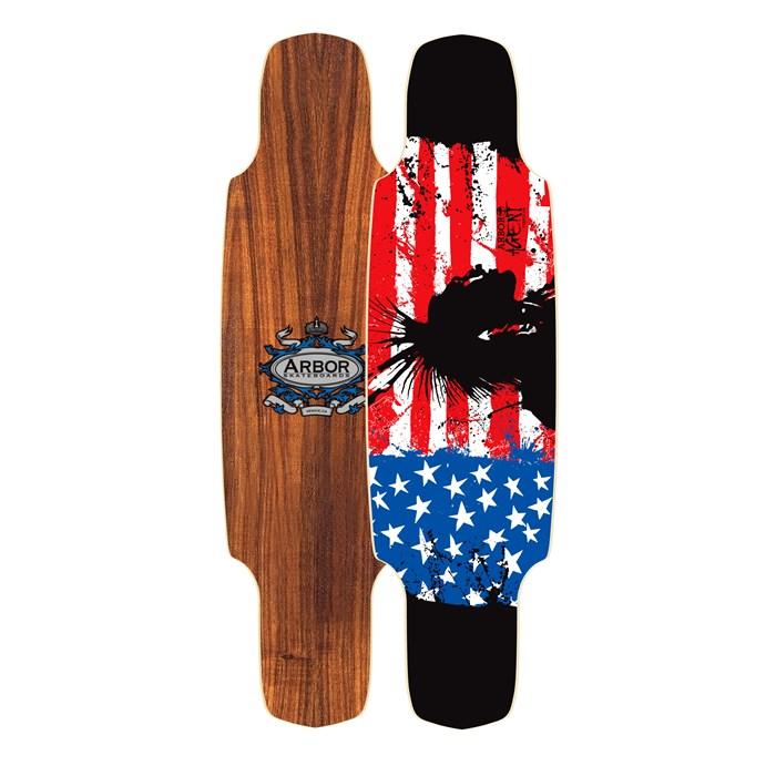 Arbor - Agent Slasher Longboard Deck