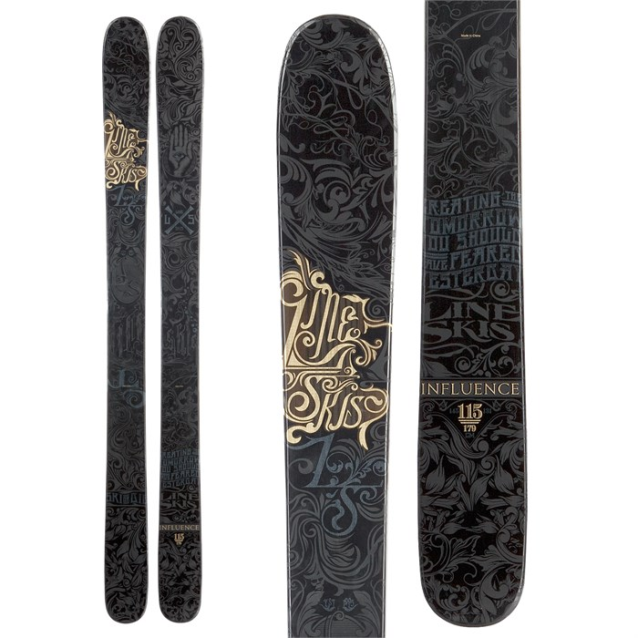 Line Skis - Influence 115 Skis 2013
