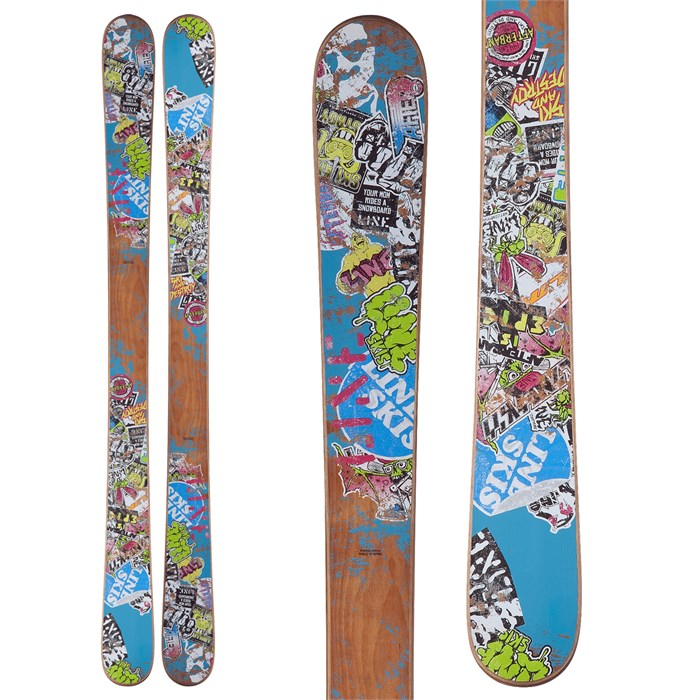 Line Skis - Afterbang Shorty Skis - Youth 2013