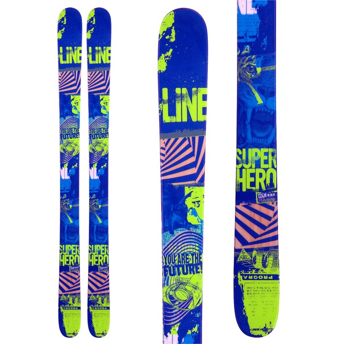 Line Skis - Super Hero Skis - Youth - Boy's 2013