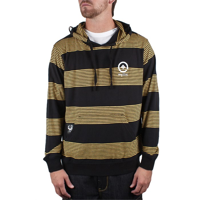 LRG - Striped Layering Pullover Hoodie
