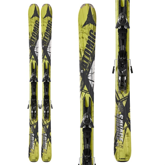 Atomic - Savage Ti Skis + XTO 14 Bindings 2013