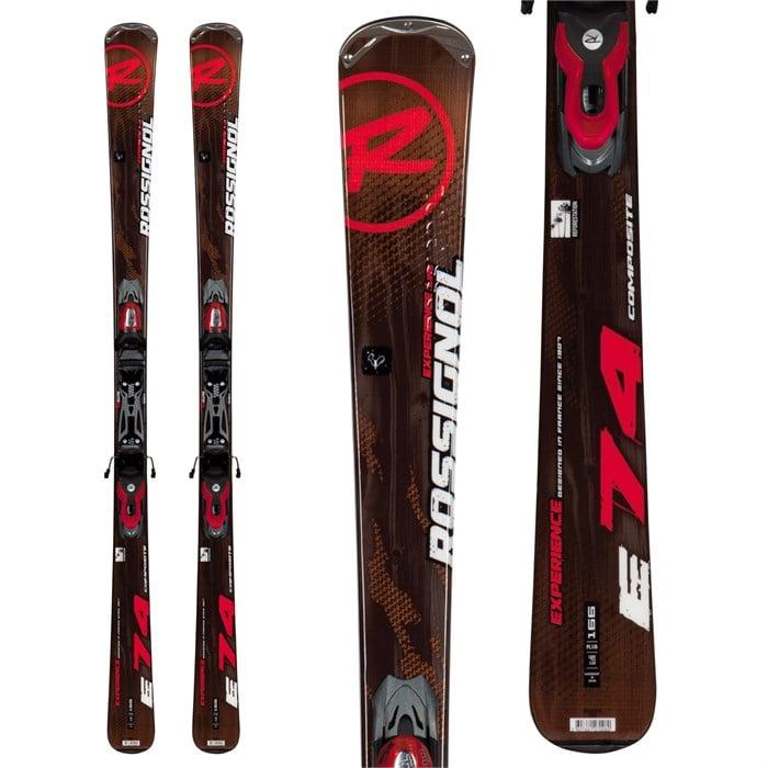 Rossignol - Experience 74 Skis + Xelium 100 Bindings 2013