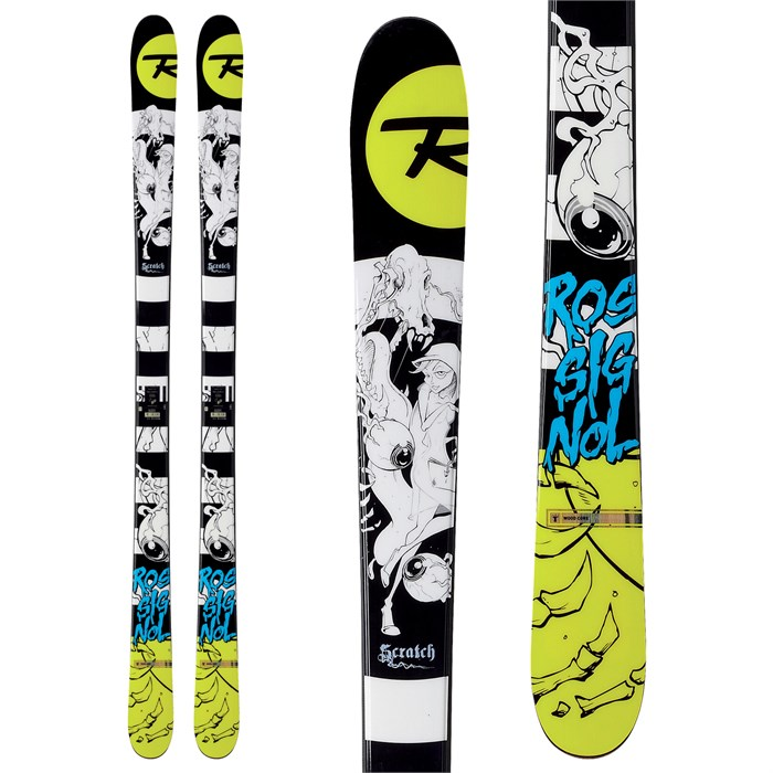 rossignol scratch skis 2013 evo outlet. Black Bedroom Furniture Sets. Home Design Ideas