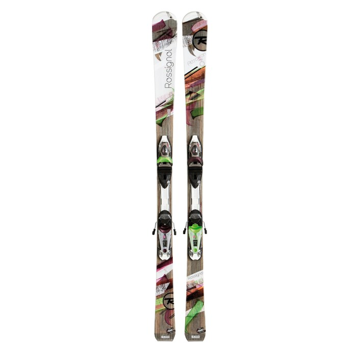Rossignol - Rossignol Attraxion 6 Skis + Saphir 110 Bindings - Women's 2013