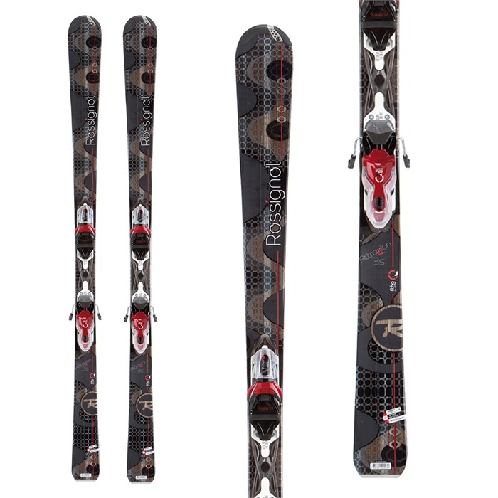 Rossignol - Attraxion 3 Skis + Xelium Saphir 110 Bindings - Women's 2013