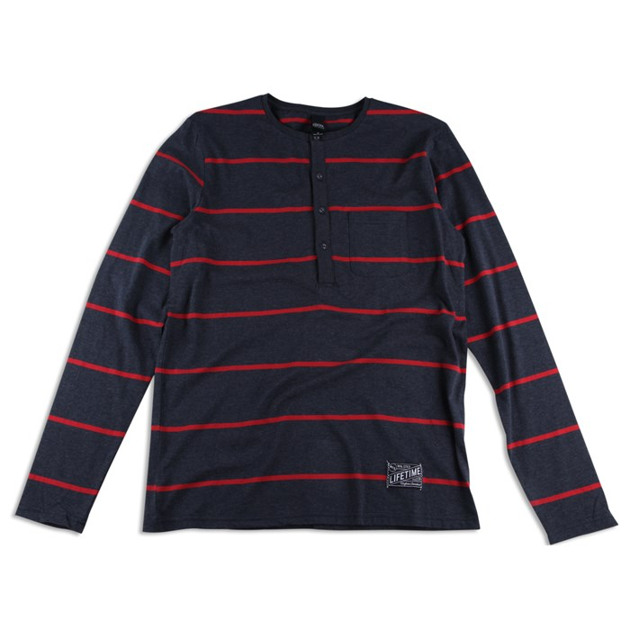 Lifetime Collective - Banks Stripe Henley Shirt
