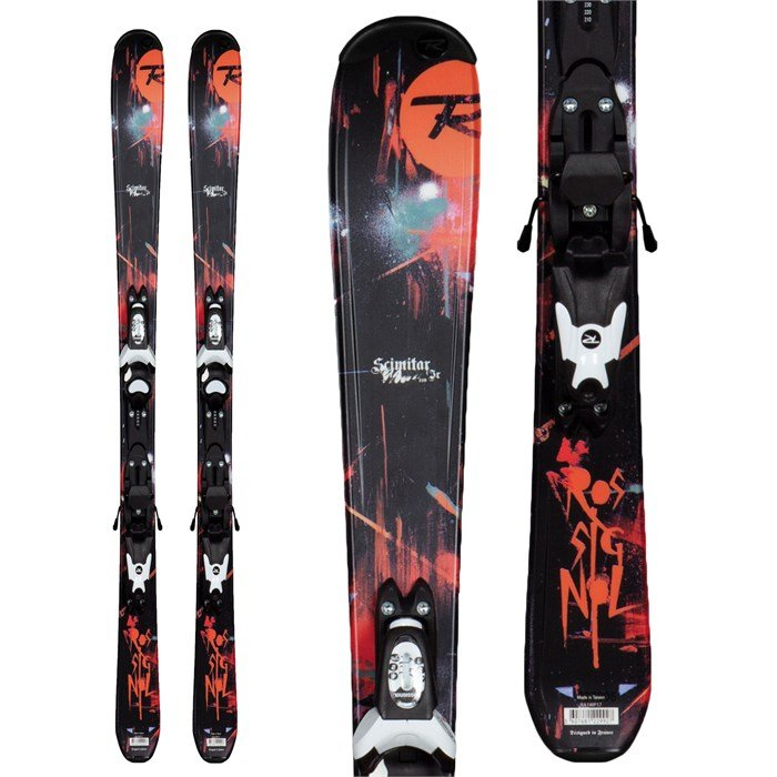 Rossignol - Scimitar Jr Skis + Xelium Jr 70 Bindings - Youth - Boy's 2013