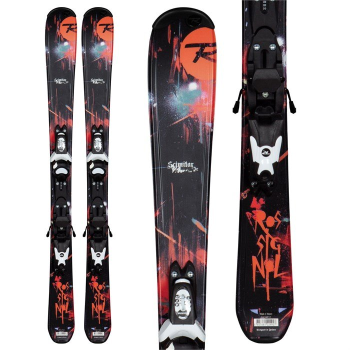 Rossignol - Scimitar Jr Skis - Xelium Kid 45 Bindings - Youth - Boy's 2013