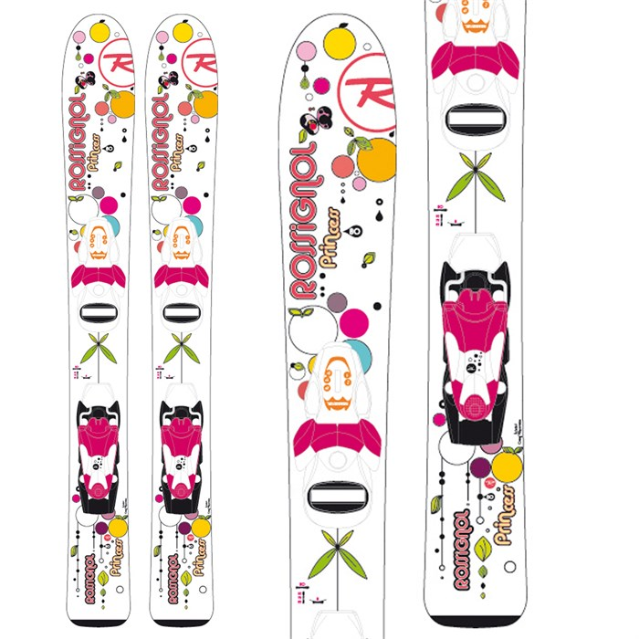 Rossignol - Princess Skis + Comp Kid 25 Bindings - Youth - Girl's 2013