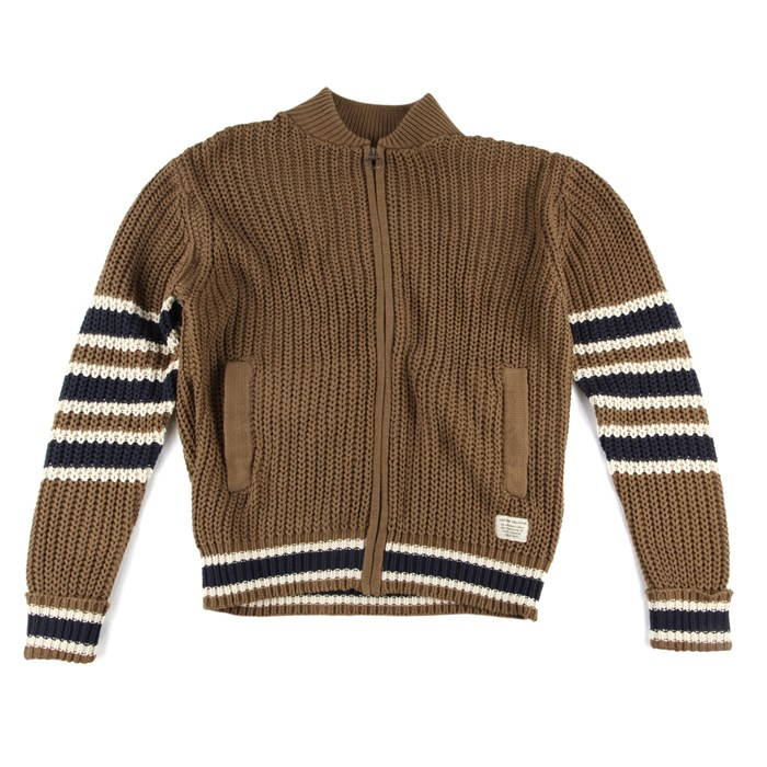 Lifetime Collective - Dunham Shaker Zip Sweater