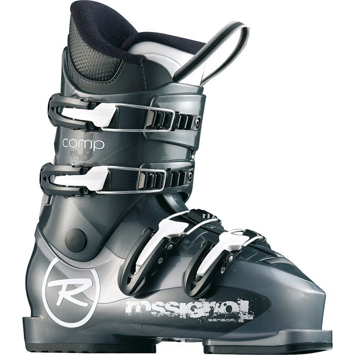 Youth Unisex Rossignol Comp J4 Ski Boots Black 25.5