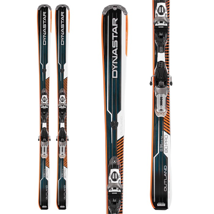 Dynastar - Outland 80 Pro Skis + PX 12 Fluid Bindings 2013