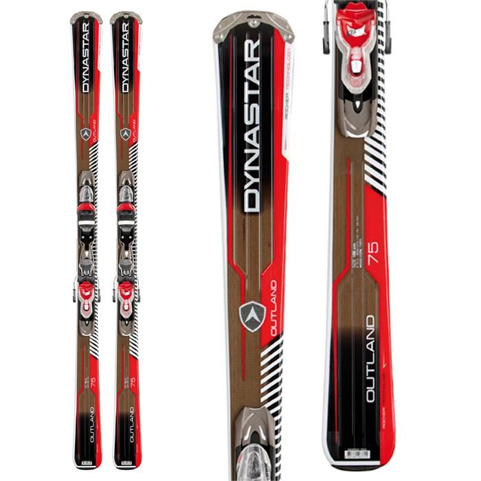 Dynastar - Outland 75 Skis + Xpress 10 Bindings 2013