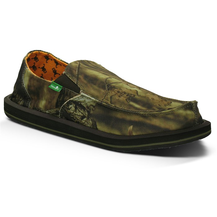 Sanuk - Vagabond Mossy Oak Slip On Shoes