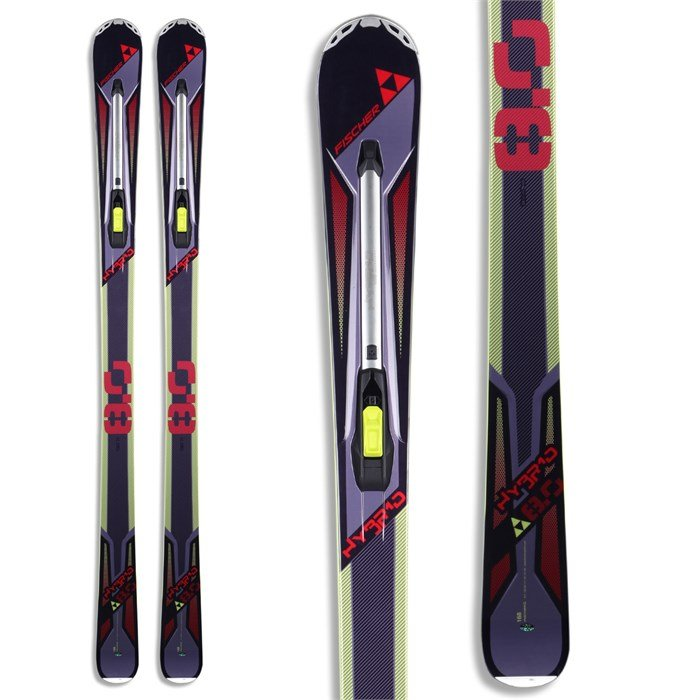 Fischer - Hybrid 8.0 Skis 2013