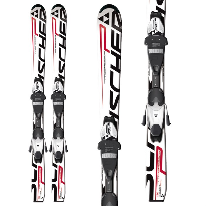 Fischer - Progressor Jr Skis + FJ7 AC Jr Rail Bindings - Youth 2013