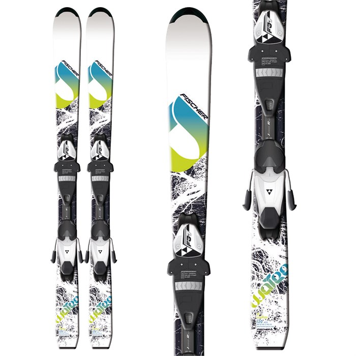 Fischer - Watea Jr Skis + FJ7 AC Jr Rail Bindings - Youth - Boy's 2013