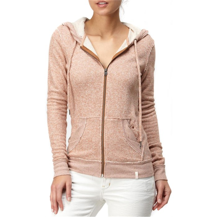 Quiksilver - Original Patch Zip Hoodie - Women's