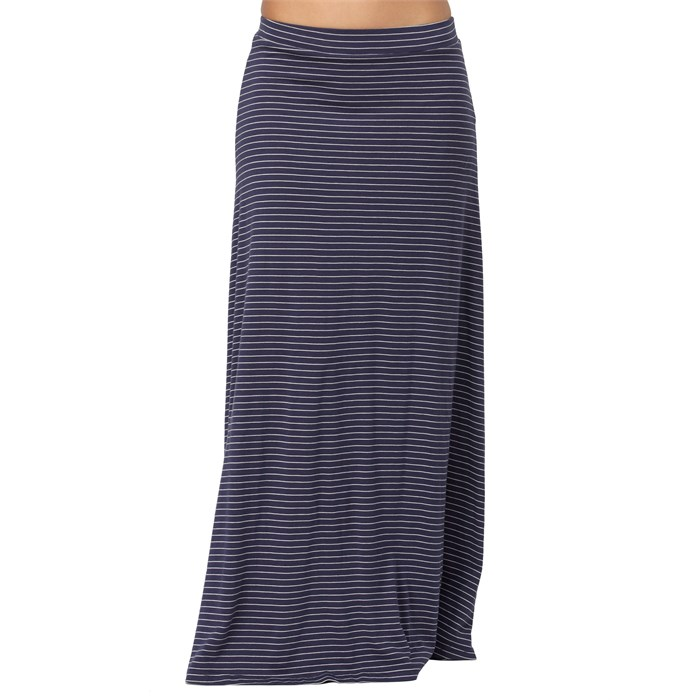 Quiksilver - Mini Stripe Maxi Skirt - Women's